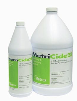 Metricide® 28 High Level Disinfectant/Sterilant: 1 Quart