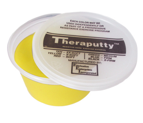 Theraputty® Exercise Material - 2 Ounce - Yellow - X-soft