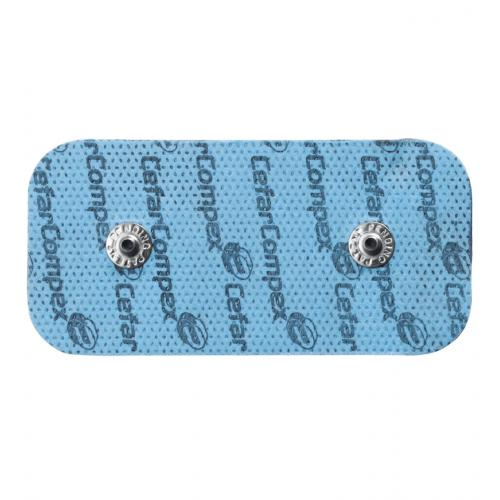 "Compex® Easy Snap Electrodes - 2"" x 4"", 2 qty"