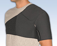 Safe-T-Sport® Neoprene Shoulder Support, Small: Up to 40""
