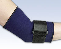 Safe-T-Sport® Neoprene Elbow Sleeve with Loop Lock
