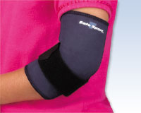 Neoprene Elbow Support, PED/LG 5-7 yrs 6 1/2 - 7 1/2""
