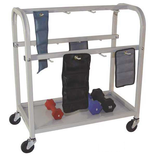 Cuff Weight & Dumbbell Cart