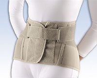 "Soft Form® Lumbar Sacral Support, 11"" with Flexible Stays"