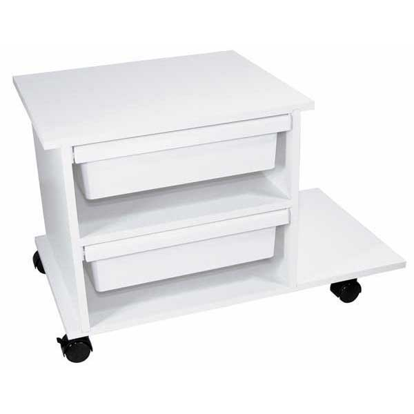 Service Cart with 2 Drawers: Paraffin