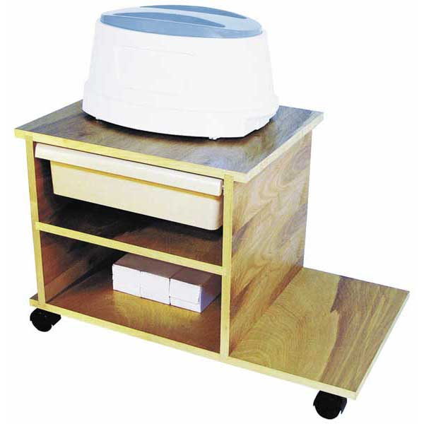 Service Cart with Drawer: Paraffin