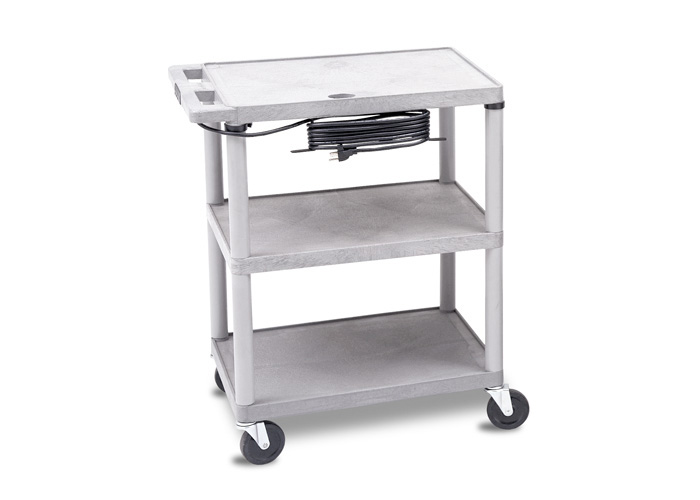 Utility Cart - Gray with Electrical (120 V)