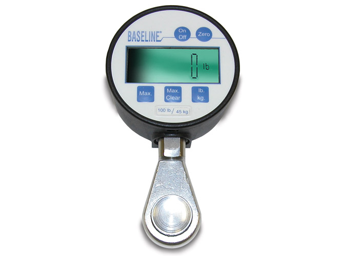 Pinch Gauge: Hydraulic - 100 lbs (45 kg) Digital Gauge