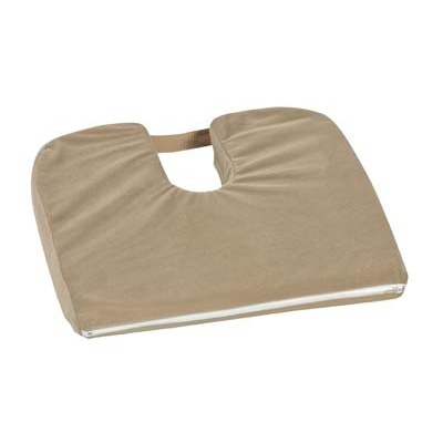 Sloping Coccyx Cushion, Camel