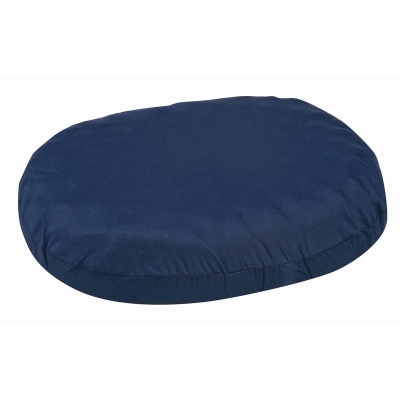 "Contoured Foam Ring Cushion, Navy, 14"" x 12-1/2"" x 3"""