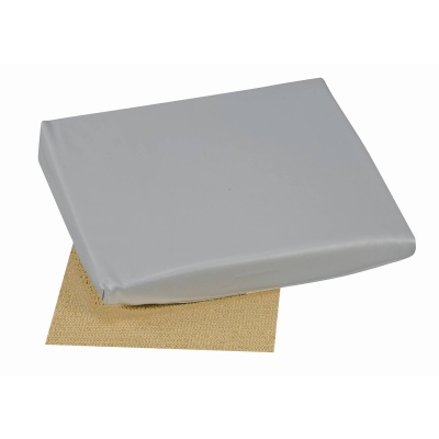 "Slant Seat Cushion, Gray, 16"" x 18"" x 2"" - 4"""