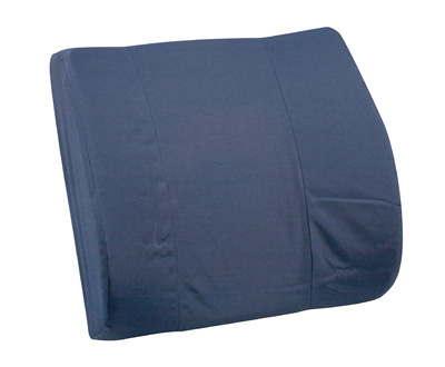 Standard Lumbar Cushion with Strap, Navy