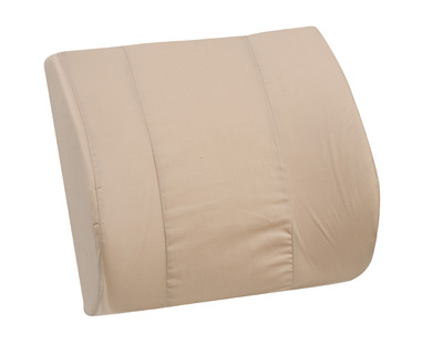 Standard Lumbar Cushion with Strap, Tan