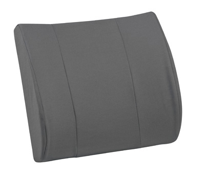 RELAX-A-Bac® Lumbar Cushion with Insert, Gray