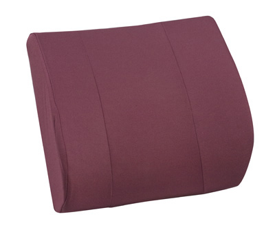 RELAX-A-Bac® Lumbar Cushion with Insert, Burgundy