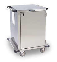 Item # 6940, Stainless Steel Enclosed Case Carts