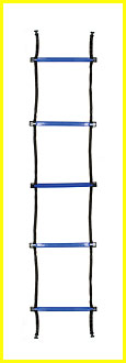 "SECTIONED AGILITY LADDER SET, Four 2-meter (6.5') x 16""W"