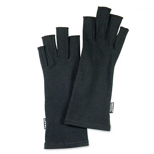 IMAK Compression Arthritis Gloves, Black (Large)