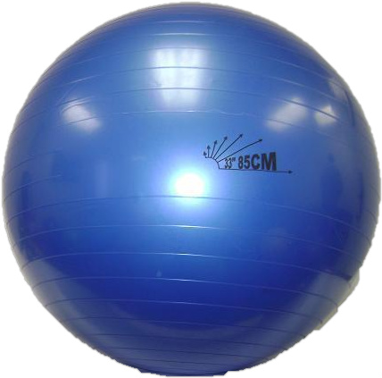 "Heavy-Duty Exercise Fitness Balance Ball, 85 cm (33"") Indigo"