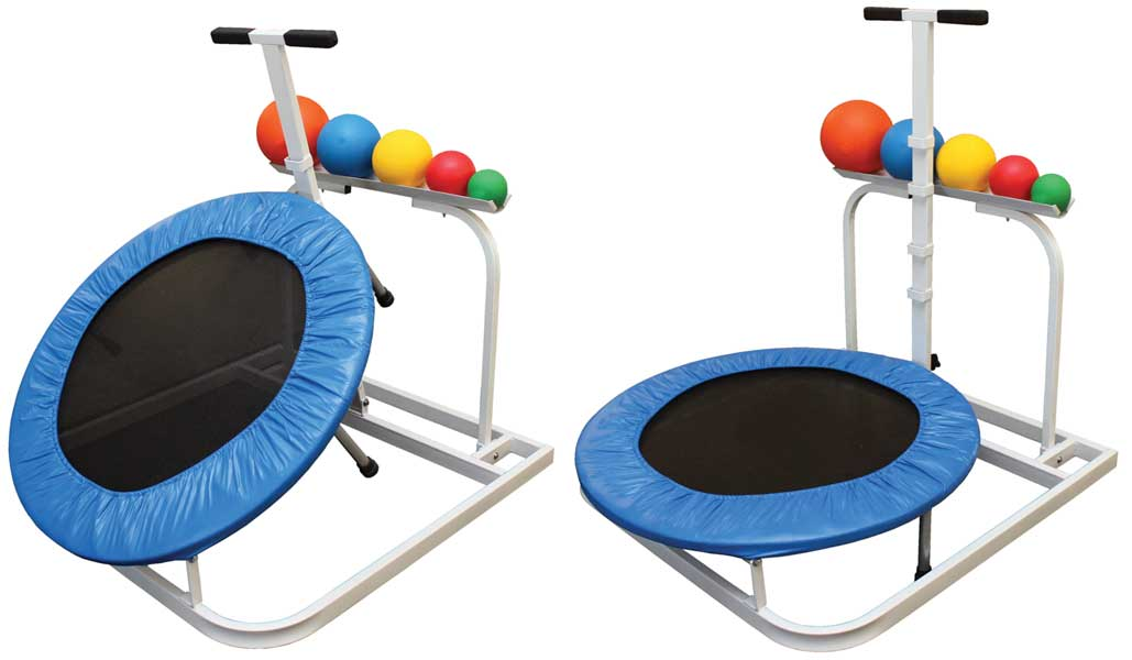 Adjustable 5-position Quick-Change Rebounder Package