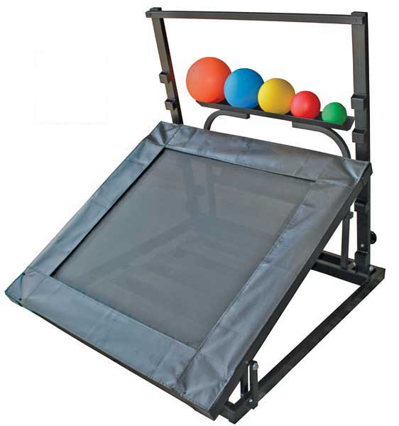 Heavy Duty Adjustable Plyometric Rebounder Package