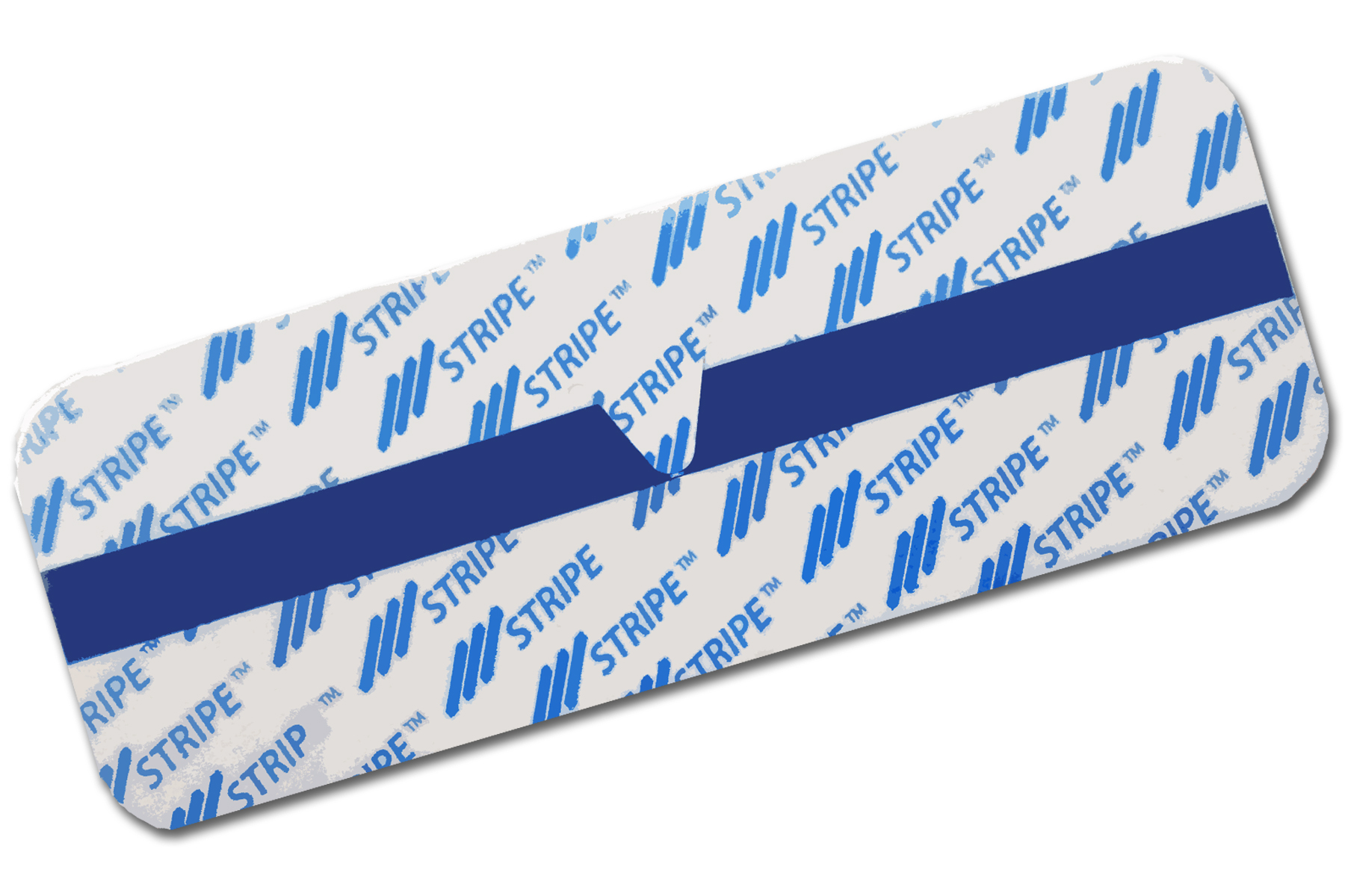 "BlueStripe® 1.875"" x 5"" Single-Use Tab (200 Electrodes/Box)"
