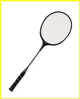 MOLDED ABS FRAME BADMINTON RACKET