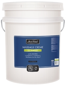 Bon Vital'® ALL PURPOSE MASSAGE CREME, 5 Gallon