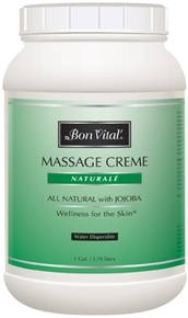 Bon Vital Naturale Massage Creme, 1 Gallon