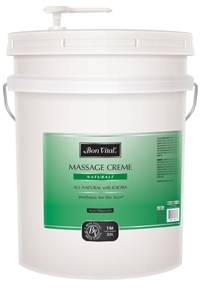 Bon Vital Naturale Massage Creme, 5 Gallon