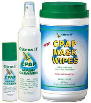 Citrus II CPAP Mask Cleaner, 1.5 oz Pump Spray Bottle