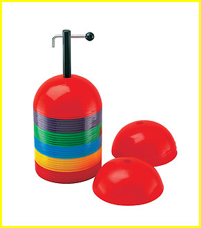 Rigid Dome Cone Set, Set Of 36