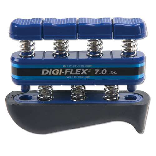 Cando® Digi-Flex Hand/Finger Exerciser, 7 Pound, Blue