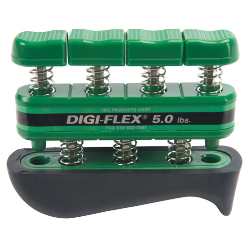 Cando® Digi-Flex Hand/Finger Exerciser, 5 Pound, Green