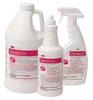 Dispatch® Hospital Cleaner Disinfectant w/Bleach, Refill, 64 oz