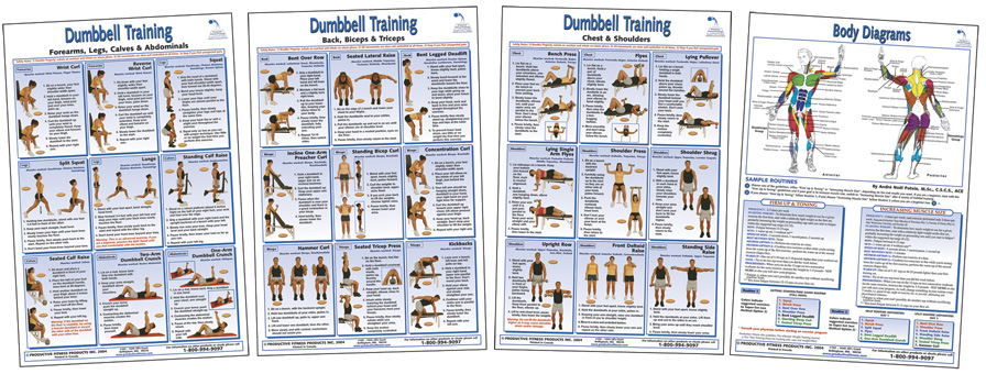 Dumbbell Training Four Poster Pack