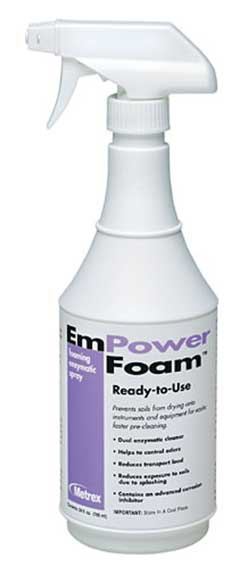 EmPower Foam™ Dual-Enzymatic Pre-Cleaner 24 oz. Spray Bottle
