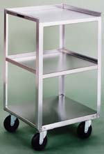 Item # 359, Stainless Steel Equipment Cart Stand - No Drawers