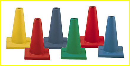 Rhino Skin® Collapsible Six Cone Set