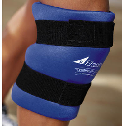 Elasto-Gel™ Hot & Cold Knee Wrap w/Patella Hole #KW6005