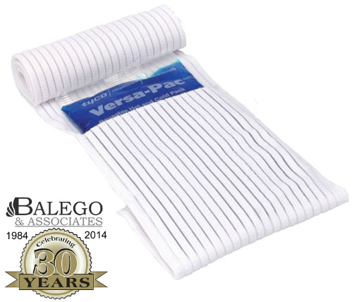 "Elastic wrap with Velcro™: 6"" x 48"" wrap with pocket"