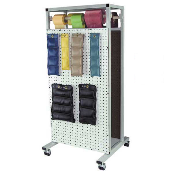 Double Sided Combo Weight & Resistance Band Rack