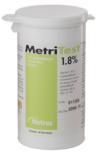 Metritest Strips, 1.8%, 28 day (60 strips/btl)