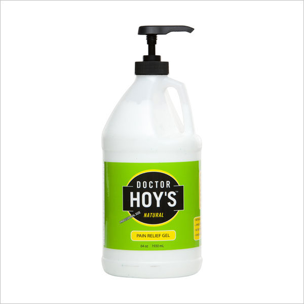 DOCTOR HOY'S Natural Pain Relief Gel 64oz Bottle with Pump