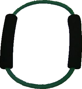 Balego™ Exercise Ring with Foam Handles, medium (green) 10 lbs.