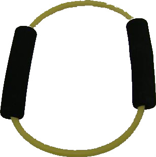 Balego™ Exercise Ring with Foam Handles, light (yellow) - rehab