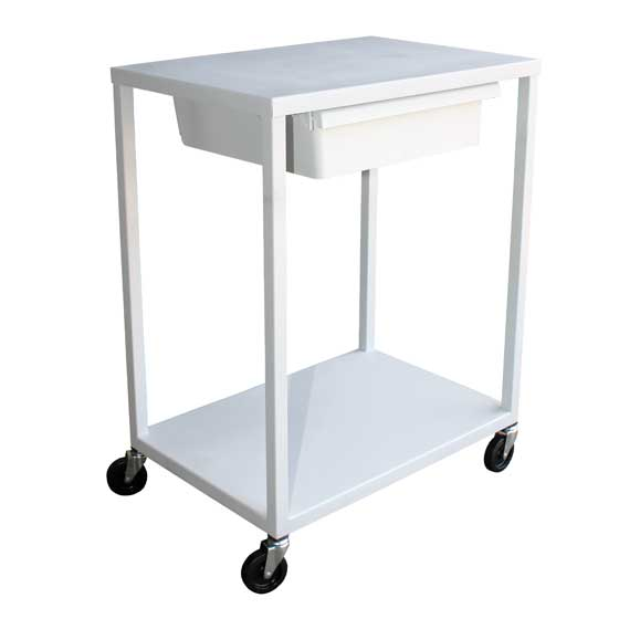 SC1624 Basic, Shelf Cart with Drawer