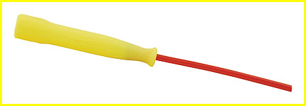 8' Speed Jump Rope with Yellow handle.