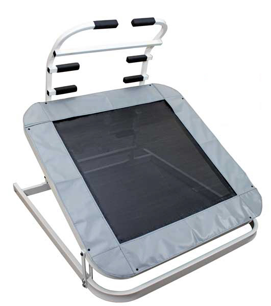 Deluxe 7-position, Quick-Change Adjustable Plyometric Rebounder
