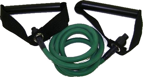 Balego™ Resistance Tubing with Handles, Medium (Green)